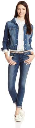 Jessica Simpson Women's JD Pixie Long Sleeve Denim Jacket JR