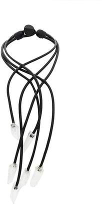 Monies interconnected cable necklace