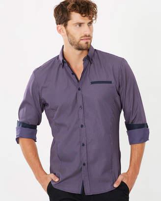 TAROCASH Hosking Slim Check Shirt