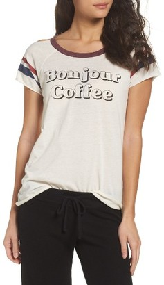 Women's Chaser Bonjour Coffee Lounge Tee $59 thestylecure.com