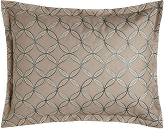 Jane Wilner Designs King Phoebe Embroidered Circle Sham