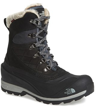 Women's The North Face 'Chilkat 400' Waterproof Primaloft Insulated Boot $149.95 thestylecure.com