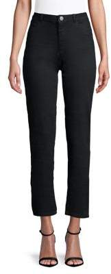 Dorothy Perkins Ashley Straight-Fit Tonal Jeans