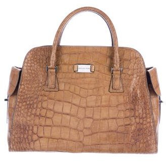 MICHAEL Michael Kors Michael Kors Gia Embossed Leather Bag