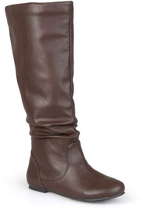 Journee Collection Jayne Slouch Boots - Wide Calf