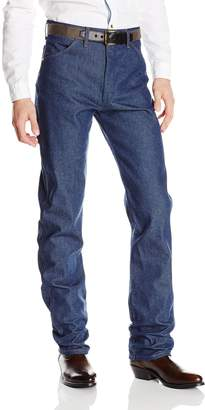 Wrangler Mens Cowboy Cut Original Fit Jean, Denim, 34x33