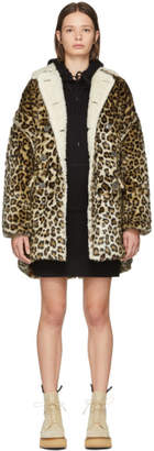 R 13 Brown Leopard Hunting Coat