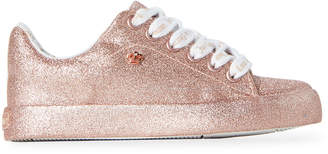 Juicy Couture Toddler/Kids Girls) Rose Gold Ferndale Glitter Low-Top Sneakers