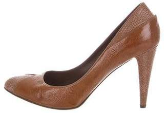 Botkier Patent Leather Round-Toe Pumps