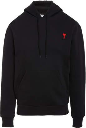 Ami Logo Hooded Sweatshirt
