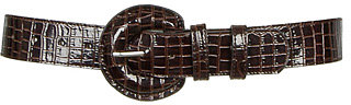 Madisson Croc Belt