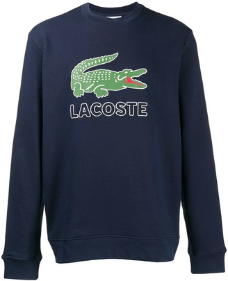 Lacoste logo print sweatshirt