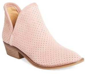 Women's Lucky Brand Kambry Perforated Bootie $83.37 thestylecure.com
