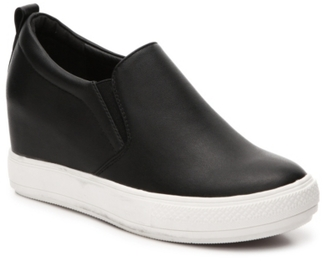 Wanted Stowe Wedge Sneaker $60 thestylecure.com