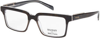 Balmain BL306703 Tortoiseshell-Look & Grey Square Optical Frames