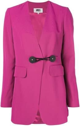 MM6 MAISON MARGIELA tie waist longline blazer