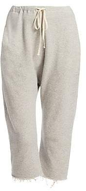 R 13 Women's High-Rise Cropped Sweatpants