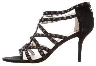 MICHAEL Michael Kors Embellished Caged Sandals
