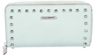 Rebecca Minkoff Large Luma Studded Zip Wallet