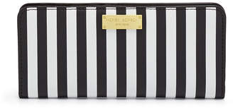 Henri Bendel Centennial Stripe Single Snap Wallet