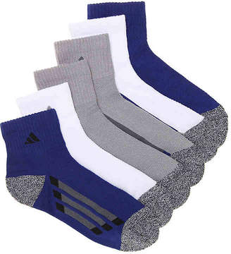 f1c052af7 adidas Cushioned Climalite Youth Ankle Socks - 6 Pack - Boy's