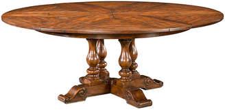 "Theodore Alexander Sylvan 63"" Round Extension Dining Table"