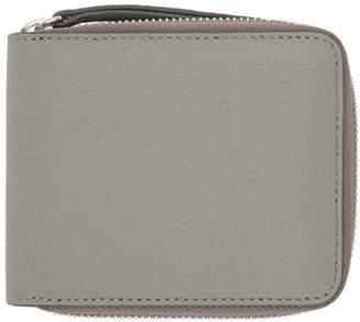 Maison Margiela Grey Small Zip Wallet