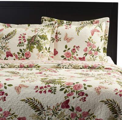Wayfair Coty Cotton Reversible Quilt Set