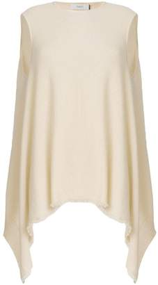Pringle cashmere asymmetric sleeveless top
