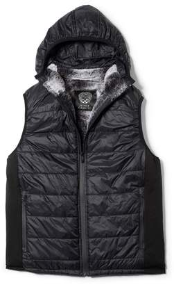 Vince Camuto Faux Fur-lined Quilted Vest