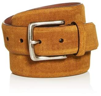 Frye Men's Waxed Suede Belt