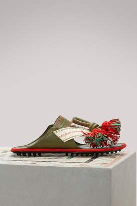Carven Leather sandals