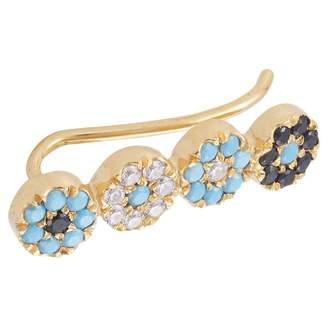 Ileana Makri Silver earrings