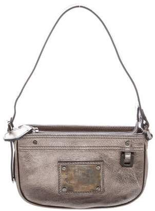 Burberry Metallic Leather Pochette Metallic Metallic Leather Pochette
