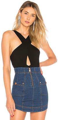 by the way. Kennan Cross Front Bodysuit