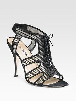 Max Kibardin Lace Sandals
