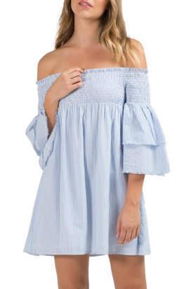 Elan International Off Shoulder Dress