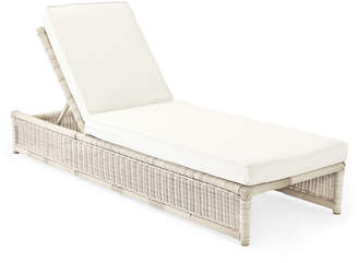 Serena & Lily Pacifica Chaise - Driftwood