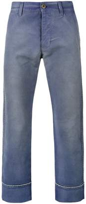 Gucci cropped work trousers