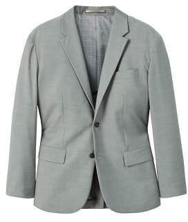 MANGO Regular-fit textured suit blazer