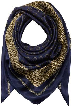 MICHAEL Michael Kors Chain Rope Silk Square Scarves
