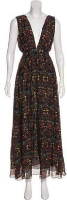 Carolina K. Sleeveless Maxi Dress