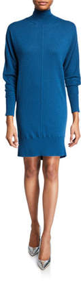 Club Monaco Kamela Dolman-Sleeve Turtleneck Sweater Dress