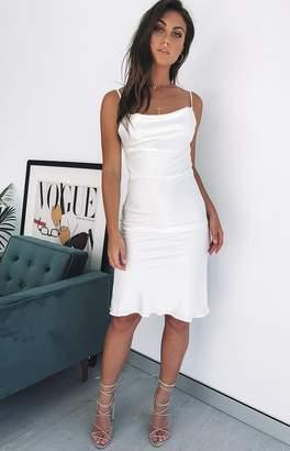 Beginning Boutique Kimpton Dress White
