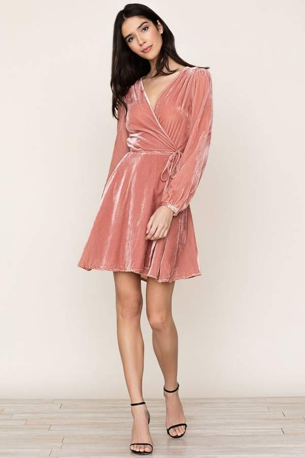 Yumi Kim Duchess Velvet Wrap Dress