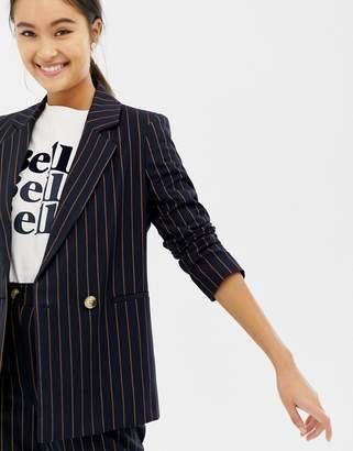 New Look Pinstripe Blazer Two-Piece