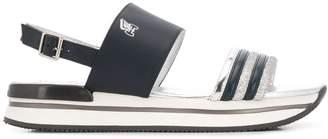 Hogan H257 platform sandals