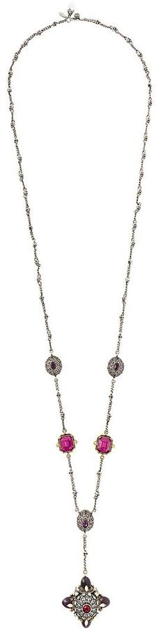 Alexander McQueenAlexander McQueen long charm necklace