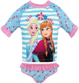 Disney Girls' Frozen Two Piece Swim Set