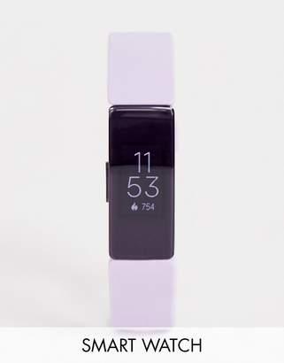 Fitbit Inspire HR smart watch in lilac